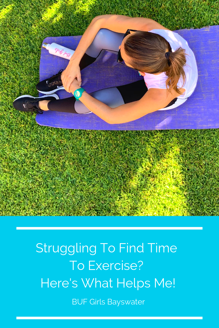 Struggling to find time to exercise? Heres what helps me!