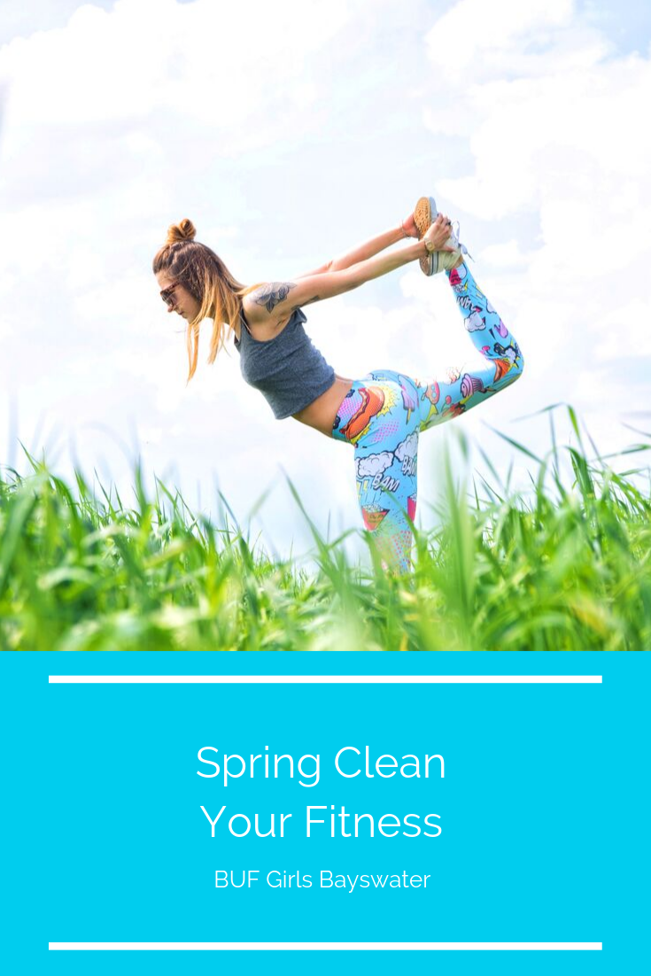 Spring Clean Your Fitness