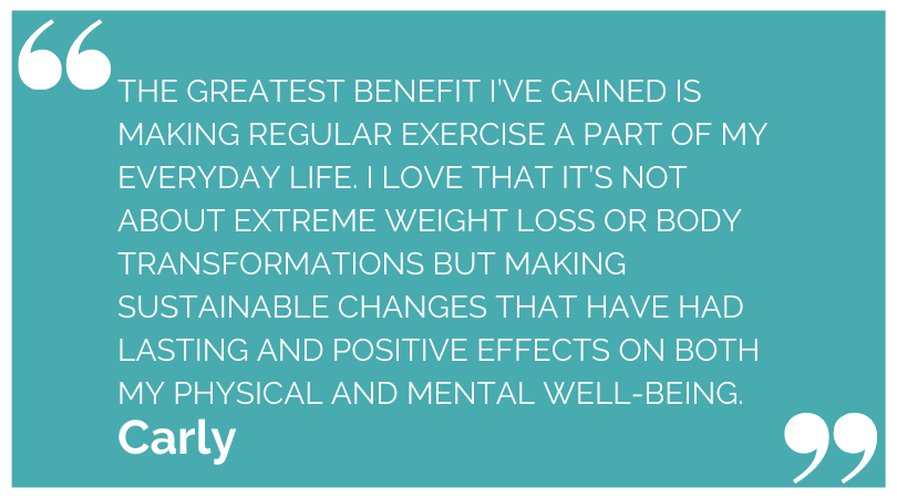 Say Yes Fitness Bayswater Testimonial