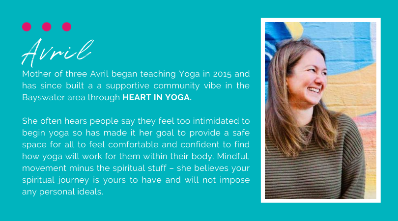 Avril Strutt Heart In Yoga Bayswater